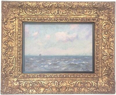 Seascape Antique Marine Oil Painting by Alexander MacLean R.B.A. (1867-1940)