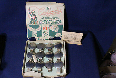 Very Rare Vintage Original Store Display Box Cowpuncher Can Opener Spout 12 pack