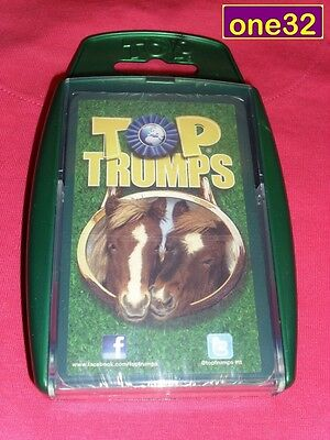Top Trumps Horses & Ponies Card Game *new & Sealed*