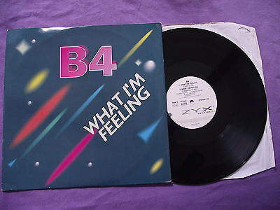 "B4 - What I'm Feeling. 12"" Vinyl single (12s745)"