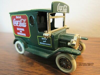 OLD LLEDO COCA COLA 1930's PANEL TRUCK DAYS GONE ENGLAND