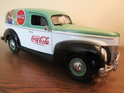 Old Matchbox Coca Cola Die Cast 1940 Ford Sedan Delivery Truck - Large!