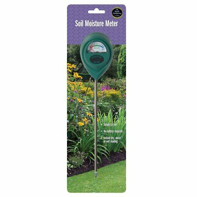 Garland Soil Moisture Meter W1020 Probe Plant Care Watering No Battery Required