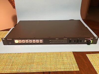 Extron IN1608 Scaling Presentation Switcher 8 Input HDCP w/ DTP