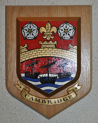 City of Cambridge Wandschild Schild Wappen Schicht Wappen