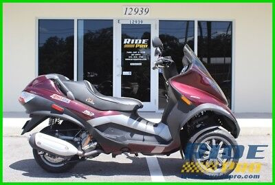 Other Makes MP3 Trike Scooter  2008 Piaggio MP3 Trike Scooter Three Wheeler 250 Used