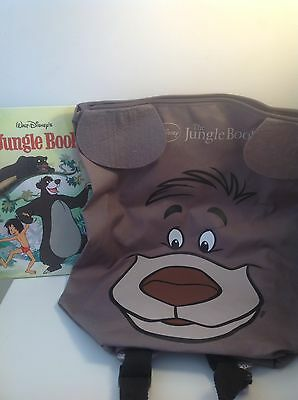 Disney Jungle Book Bag With Tags And Book Pe Kit