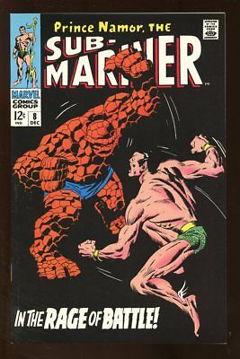 SUB-MARINER #8 VERY FINE 2ND PRINT MARVEL bin-2017-3226