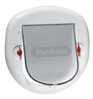 Staywell Petsafe 280 Big Cat Small Dog Flap Pet Door 4 Way Locking Glass PVC-New