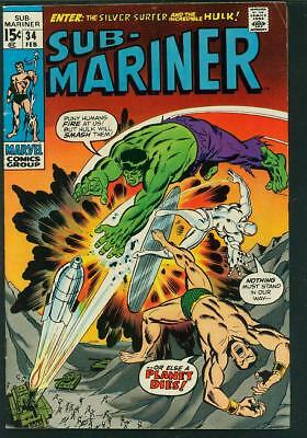 Sub-Mariner #34 F- (Prelude to Defenders)