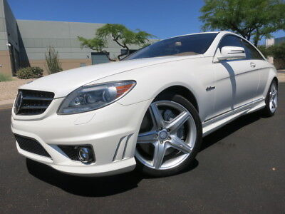 2010 Mercedes-Benz CL-Class CL63 AMG P2 Pack Night Vision Distronic designo Matte White CL63 AMG 2009 2011 2008 2012