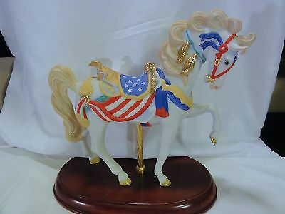 Lenox  -  COUNTY FAIR CAROUSEL HORSE  -   Exquisite Piece  -  In Box with COA