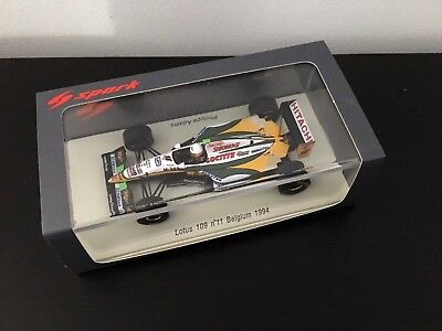 F1 Spark 1/43 - LOTUS 109 PHILIPPE ADAMS BELGIUM GP 1994
