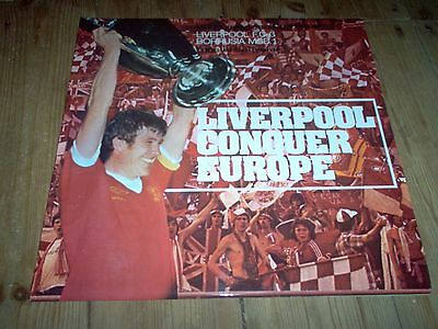 LIVERPOOL Conquer Europe. Liverpool v Borrusia 1977 European Cup Final