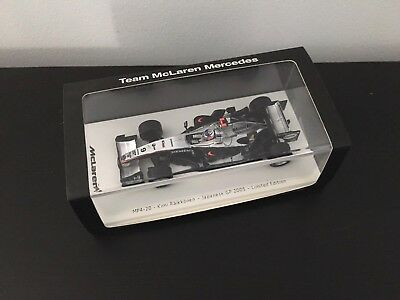 F1 Spark 1/43 - McLAREN MP4/20 KIMI RAIKKONEN JAPANES GP 2005 GTC LTD EDITION