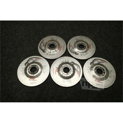 "Lot of 5 Eagle Cut 146 Grinding Wheels, 4-1/2"" Diam. x 1/4"" Thick x 7/8"" Arbor"