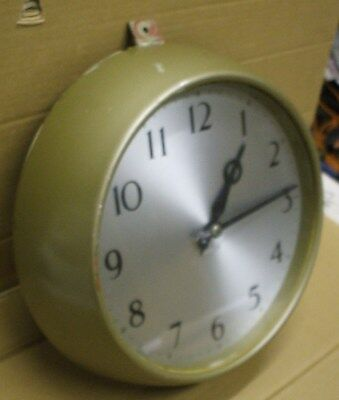 Post Office Electric Slave Clock For A Master