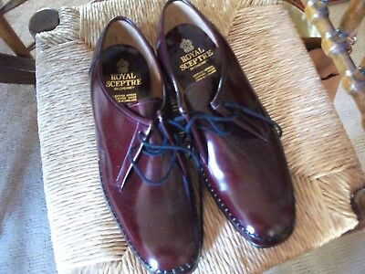 MENS Royal Sceptre by Cheaney FROME  shoes size 10 OX BLOOD COLOUR