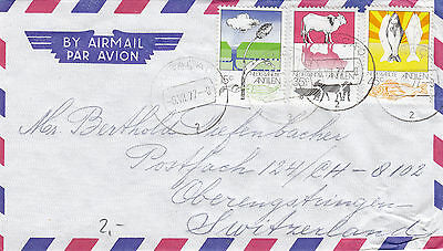 CURACAO (k545) 1977 cover st. air mail to SWITZERLAND