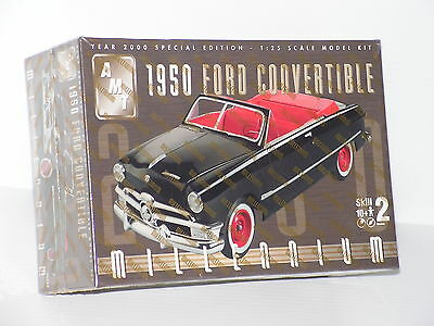Amt #30263 1/25 1950 Ford Convertible Millenium Series F/s