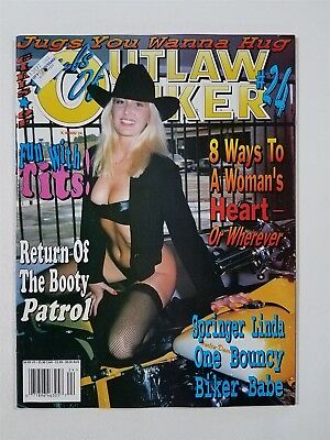Girls of Outlaw Biker Motorcycle Magazine #24 Jugs You Wanna Hug - Fun with Tits