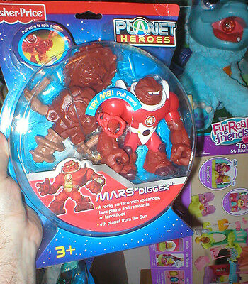 Planet Heroes Fisher Price Series Mars Digger, Never Opened