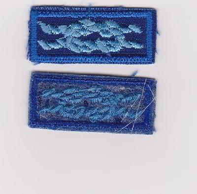 ONE BSA DEN LEADER COACH AWARD SQUARE KNOT MINT CLEAR BACKING PATCH DIScONTINUED
