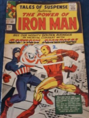 Tales of Suspense #58 (Oct 1964, Marvel)VG