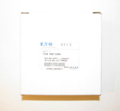 Eaton 1232C66G02 Test Cord for Digitrip 310