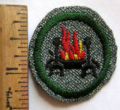 Marvelous Vintage Girl Scout 1938 1947 Home Health Safety Badge Fireplace Hearth Patch Download Free Architecture Designs Scobabritishbridgeorg