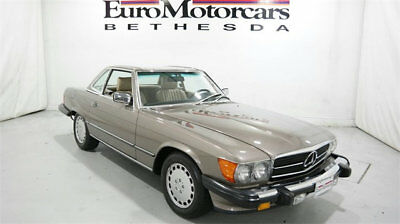 1989 Mercedes-Benz 500-Series 560SL 1989 mercedes benz 560 sl convertible r107 low miles mint condition roadster sl