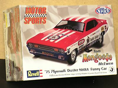 "Revell #85-4289 1/25  75 Plymouth Duster ""mongoose"" Funny Car Fs"