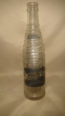 Nesbitt's Of California - Vintage Clear 10 oz. Bottle 1955