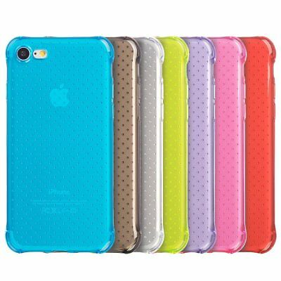 Ultra Thin Slim TPU Rubber Candy Skin Case Cover For Apple iPhone 8 and iPhone 7