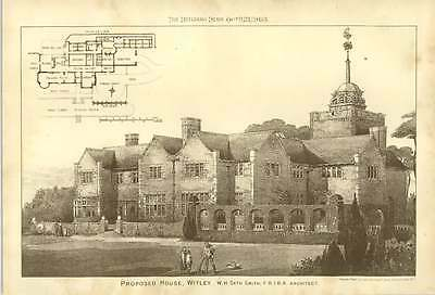 1903 Proposed House Witley Seth Smith