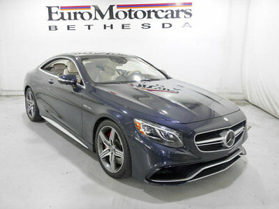 2015 Mercedes-Benz S-Class 2dr Coupe S 63 AMG 4MATIC 2dr Coupe S 63 AMG 4MATIC S-Class mercedes benz certified s63 amg coupe s class