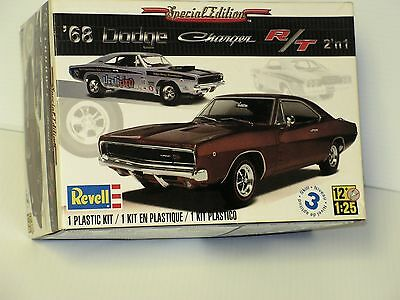 Revell #85-4202 1/25 68 Dodge Charger Special Edition  Open / Fsi