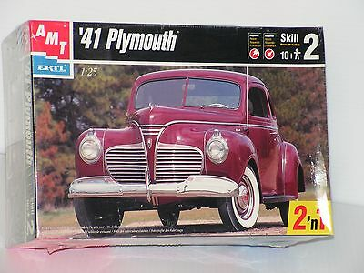Amt #6184 1/25 41 Plymouth Coupe  F/s