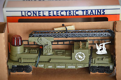 Lionel 6-16726 U.S. Army Fire Ladder car--(1995)--NRFB--low $$--LOOK