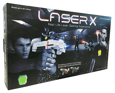Laser X – The Ultimate High Tech Game of Tag! Double Pack