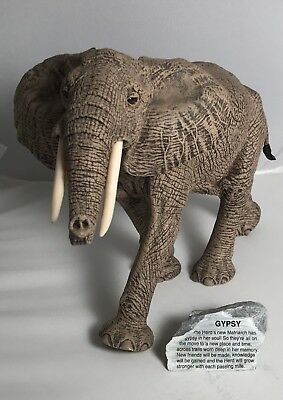 "THE HERD Martha Carey GYPSY 3132 - 12"" X 8.5"" - RETIRED"