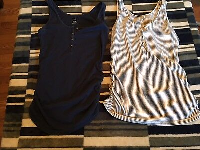 Womans Maternity Tank Tops Size Large Old Navy Tops