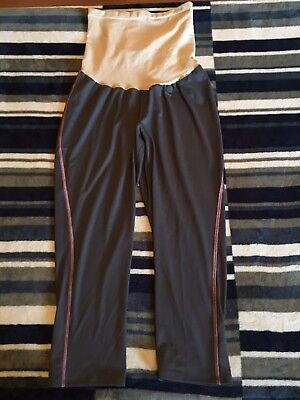 Maternity Cropped Athletic Bottoms Pants Size Large Womans