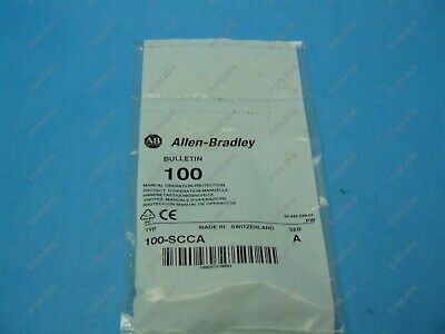 Allen Bradley 100-SCCA Manual Operation Protection Cover For 100-C Contactor New