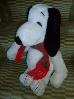 """Vintage Peanuts Snoopy 20"""" Soft Plush by United Feature Syndicate, Inc 1968"""