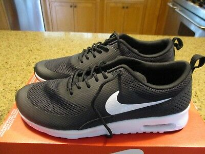 Wmns Nike Air Max Thea Black White Women's Running Shoes Sneakers  599409-020