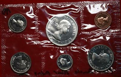 Uncirculated 1964 Canada Silver Mint Set Free S/H