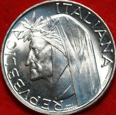 Uncirculated 1965 Italy 500 Lire Foreign Coin Free S/H