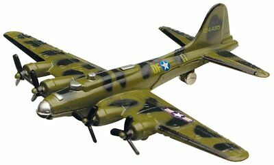 Boing B-17 Flying Fortress - Diecast Plane by Motor Max  - SKY wings.