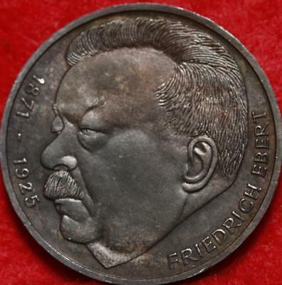 1975 Germany 5 Mark Silver Foreign Coin Free S/H